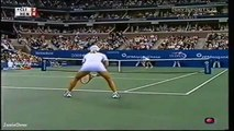 Justine Henin vs Kim Clijsters 2003 US Open Highlights