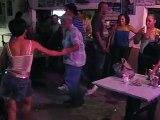 Puerto Rican style Salsa dancing in Piñones, Puerto Rico