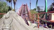 Knotts Jaguar HD POV Roller Coaster Knotts Berry Farm California