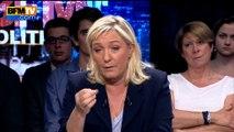 """Marine Le Pen: """"Je n'autorise personne à atteindre le Front national"""""""