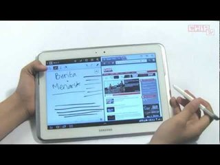 CHIP TV: Review Samsung Galaxy Note 10.1