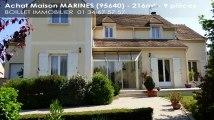A vendre - Maison - MARINES (95640) - 9 pièces - 216m²