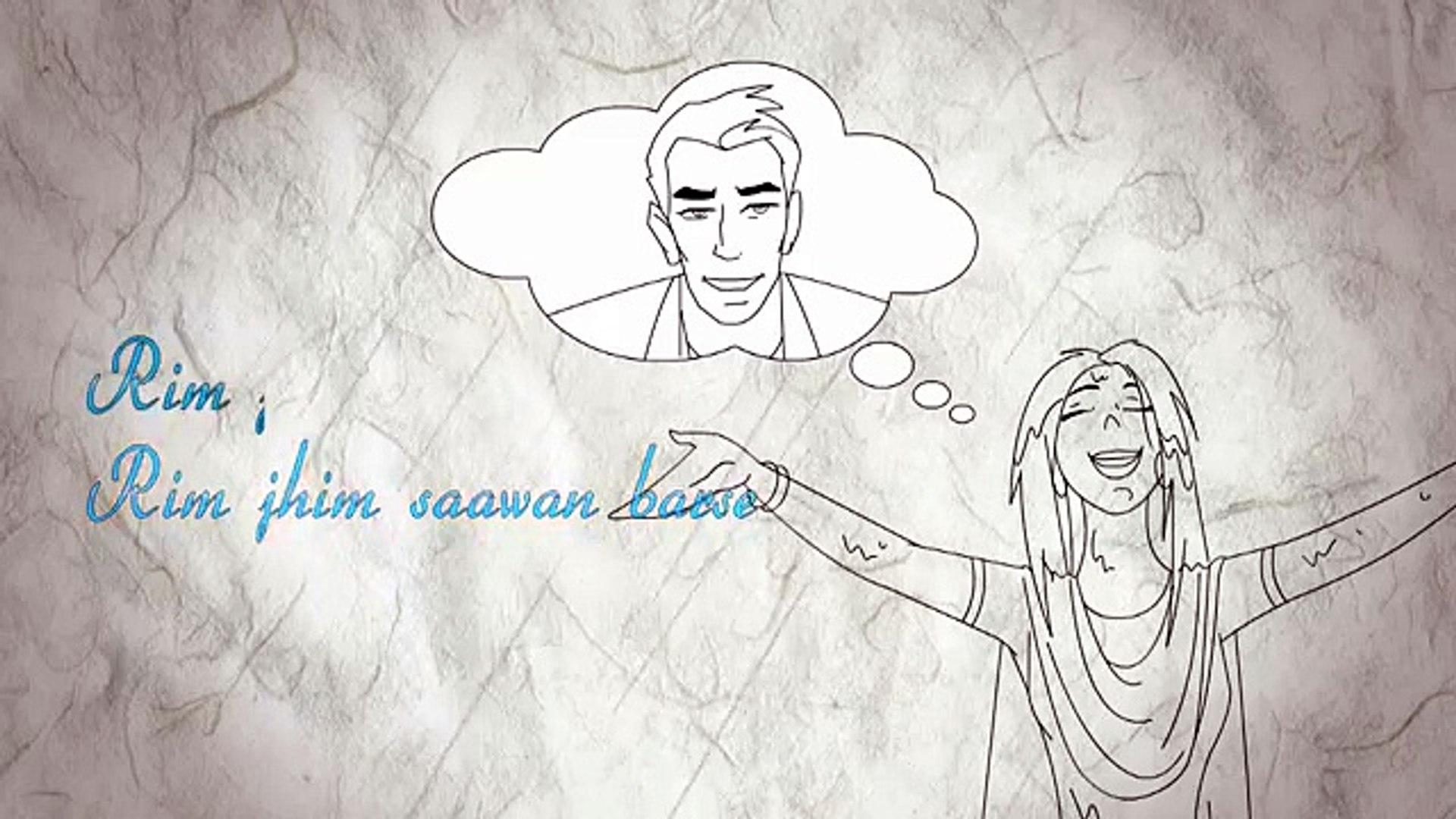 Rahat Fateh Ali Khan - Rim Jhim Lyric Video ft Shreya Ghoshal
