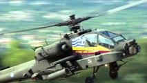 """AH-64D(HA) - """"Pegasus"""" Apache Demo Team - Hellenic Army Aviation - Tatoi Air Show 2014"""