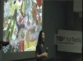 Min-Chung Lee's painting stories(李民中的創作故事): Min-Chung Lee at TEDxYunTechU