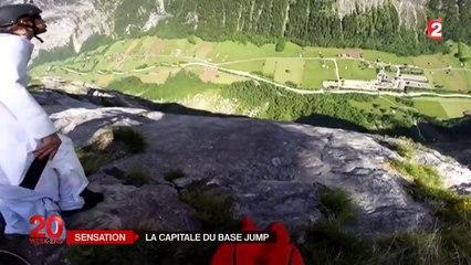 Lauterbrunnen, le paradis suisse du base jump