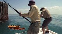 Cyril se fait défoncer le dos par un mérou géant aux Bahamas - Mordu de la Pêche avec Cyril Chauquet