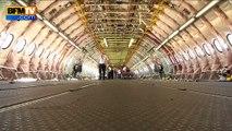 Salon du Bourget: BFMTV à bord d'un A380 d'essai