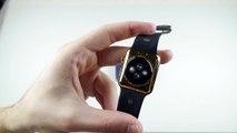 Apple Watch écrasée par 2 aimants