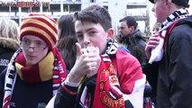 Manchester United - Fulham prologue (Feb 9, 2014)