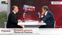 """TextO' : Migrants - Bernard Cazeneuve : """"Il faut que les migrants économiques irréguliers soient reconduits à la frontière"""""""