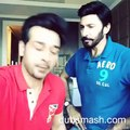 our hero Faysal Qureshi with Aijaz aslam