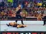 WWE Raw The Undertaker (w- Sara) & DDP brawl