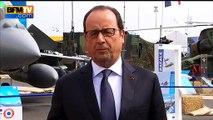 Salon du Bourget: Hollande n'annoncera pas de signatures de contrats