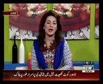 Humaira Naz  (Herbalist) Best Tips live on  Salam Pakistan 09-June-2015  Waqt News TV PART 1 ( Ghazali Herbal)