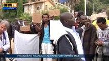 Alpes-Maritimes: des migrants bloqués à la frontière franco-italienne