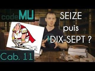 CAMU #11 - Nombres : seize puis dix-sept ?