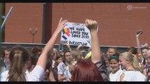 Le stade Roi Baudouin pris d'assaut par les fans de One Direction