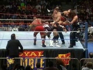 1996 WWF Royal Rumble Match 1/21/96