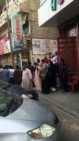 Watch What Happened When Khadda Market Massage Parlour Got Raided