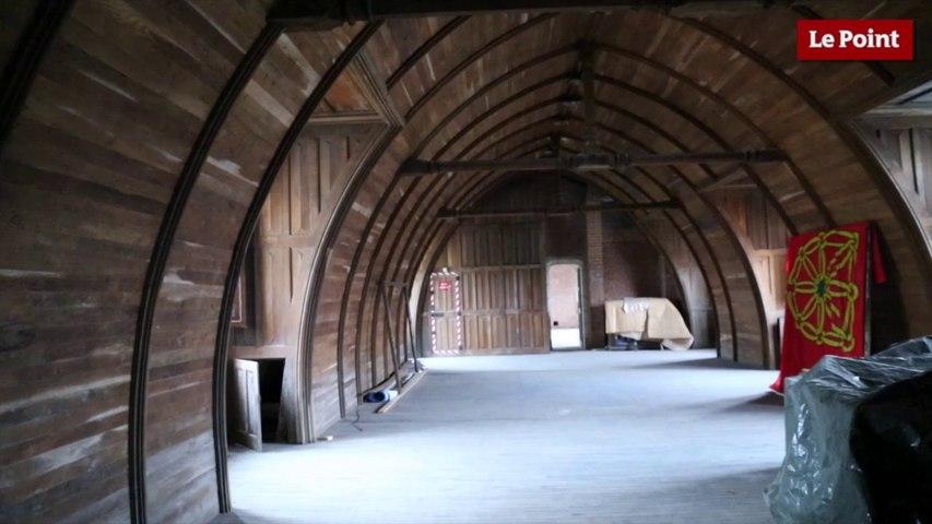 Visite interdite du château d'Amboise #5 : Les combles aménagées du duc d'Aumale.