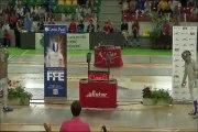 Fête des Jeunes 2015 - Finale sabre hommes  Florian Schickele  vs Maxence Jouannet