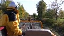 Belfast & Moosehead Lake RR railcar trip #1