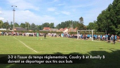 Finale de coupe lorquet 2015 : Caudry B - Rumilly B