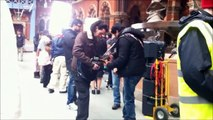 Shahrukh Khan @ St Pancras Station, London, UK [2 March 2012]