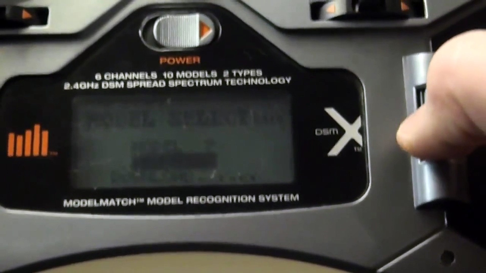DX6i Tutorial #1: Setting up a new model in the Spektrum DX6i