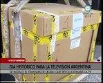 Visión Siete: Día histórico para la TV Argentina