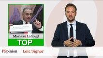 Le Top Flop: Marwan Lahoud (GIFAS) promet 8000 embauches / Le PS tremble à Clichy