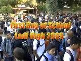 First Day of Lodi High in Lodi, Ca