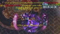 World of Warcraft Arcane mage solo  Gara'jal the Spiritbinder Heroic -MSV-