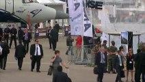 Des dizaines d'avions commandés dès le début du Salon du Bourget