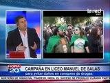 Liceo Manuel de Salas y el consumo responsable de drogas