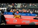 points spectaculaires épisode 17, tennis de table (WTTC table tennis Rotterdam Holland 2011 ) 2/2.