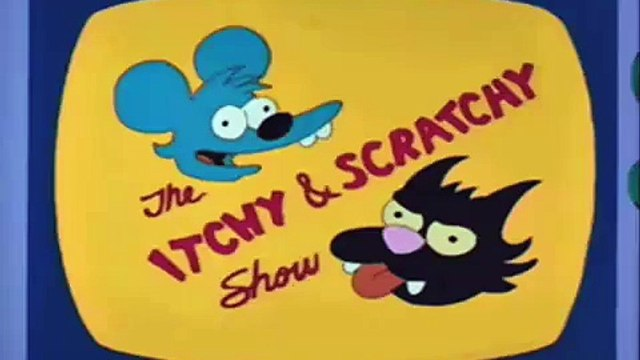 Piano Instrumental for the Itchy & Scratchy Show - Simpsons