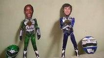 Power Rangers: Lost Galaxy 2014 Fan-Film - Double Morphin Grid Case Study - Galaxy Green and Blue