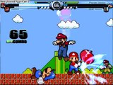 MUGEN: Super Mario and Mario(SMB) vs. (SMB)Mario and (M&L) Mario