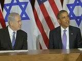 Palestiniens à l'ONU: Netanyahu salue la position d'Obama