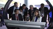Visite de Ségolène Royal au 51e Salon international de l'Aéronautique et de l'Espace au Bourget (SIAE)