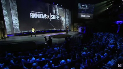 E3 2015 RAINBOW SIX SIEGE gameplay