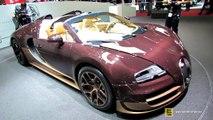 2014 Bugatti Veyron Grand Sport Vitesse Rembrandt - Walkaround 2014 Geneva Motor Show