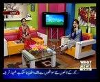 Humaira Naz  (Herbalist) Best Tips live on  Salam Pakistan 09-June-2015  Waqt News TV PART 2 ( Ghazali Herbal)