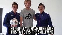 Barcelona Football Star: Ivan Rakitić Football Skills Tutorial ft. SkillTwins ★