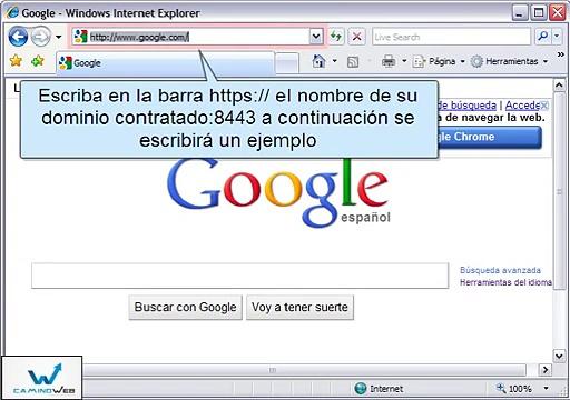 certificado ssl para ingresar por el navegador de internet explorer