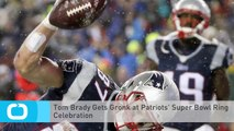 Tom Brady Gets Gronk at Patriots' Super Bowl Ring Celebration