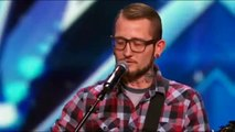 America's Got Talent 2015 Most Emotional Performance Johnny Shelton Auditions 1