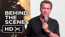 Terminator Genisys Behind the Scenes - Arnold Visits Camp Pendleton (2015) - Mov_HD
